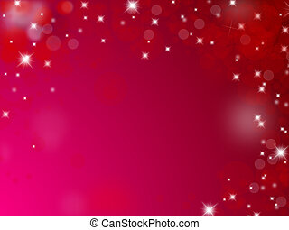 Red and pink christmas background