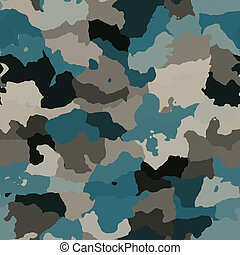 Camouflage pattern texture - Camouflage pattern, graphic...