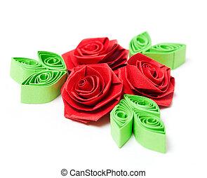 papier, kwiat