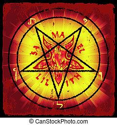 pentagram - symbol of Satan
