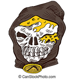 Grim Reaper - An image of the grim reaper.
