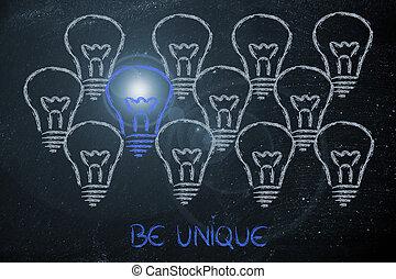 business vision: be unique, not average - average vs....