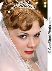 Bride - Beautiful bride with red hair