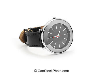 wrist watch on white background