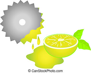 Juice lemon - Creative design of juice lemon