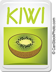 Flavour kiwi - Creative design of flavour kiwi