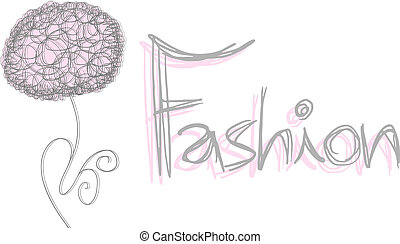 Fashion flower - Creative design of fashion flower