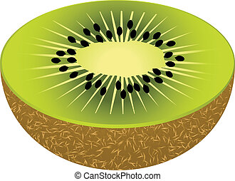 Kiwi sticker - Creative design of kiwi sticker
