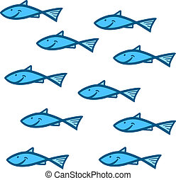 Group fish - Creative design of group fish