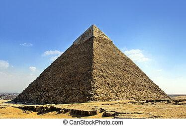 Pyramider, Kairo, egypten,  Giza
