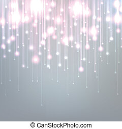Silver christmas background. - Silver defocused background...