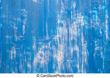 Scratched blue metallic texture