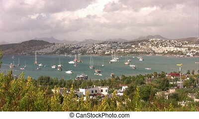 View of Bodrum, Turkey - Bodrum Harbor, landscape