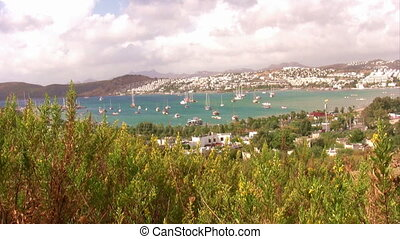 View of Bodrum, Turkey - Bodrum Harbor, landscape