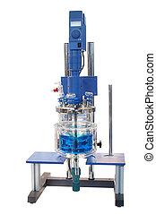 kemisk, utrustning, laboratorium
