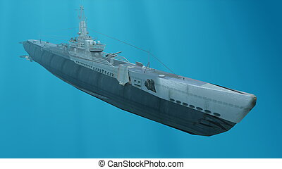 submarine  - image of submarine