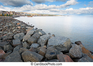Lake Superior Coast Line - Duluth Minnesota Lake Superior...