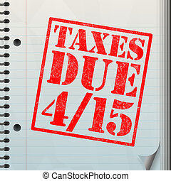 Tax Time - A tax time themed montage for US taxpayers...