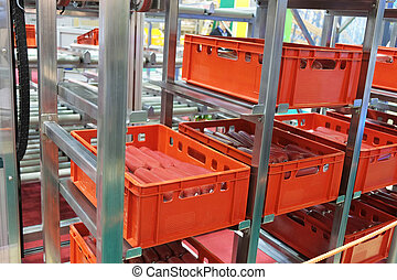 food industry equipment - The image of a food industry...