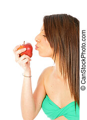 An apple a day keeps the doctor round about old Italian...