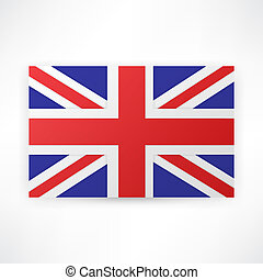 flag london background
