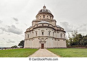the renaissance church Santa Maria della Consolazione, a...
