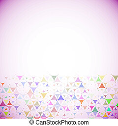 Abstract background with multicolored shapes