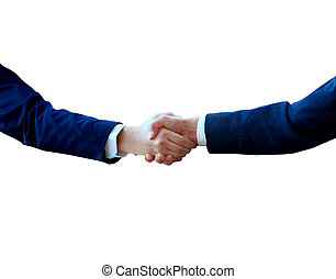 Handshake The conclusion of the transaction