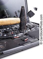 Smashing The Laptop