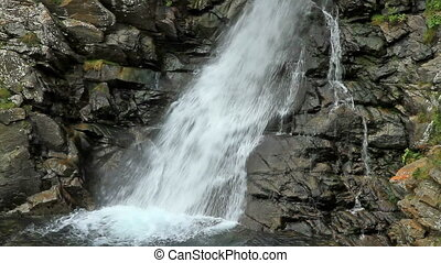 Beautiful veil cascading waterfall - Beautiful veil...