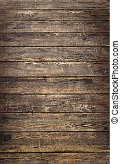 Background of old worn wooden planks - The Background of old...