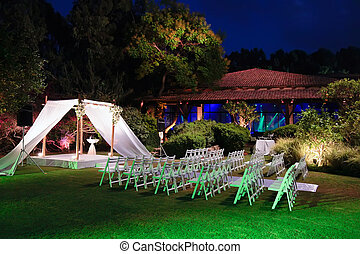 Jewish wedding ceremony canopy chuppah or huppah - Jewish...