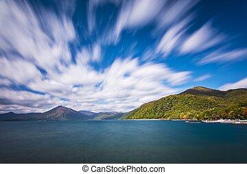 Shikotsu Toya National Park - Lake Shikotsu at Shikotsu Toya...