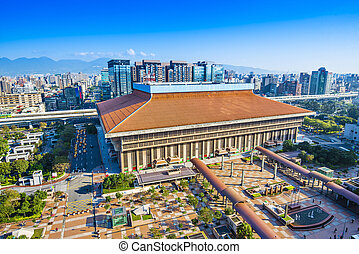 Taipei Main Station in the Zhongzheng District of Taipei,...