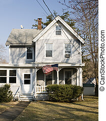 rural house sloatsburg new york - residential house typical...