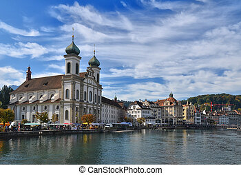 Jesuit church in Luzern, Switzerland