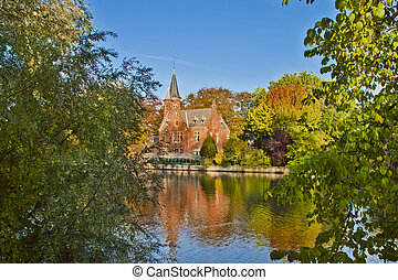Nature Scene in brugge,Belgium - Naturel Scene in...