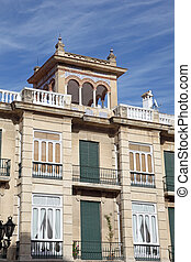 Building in the old town of Antequera, Andalusia, Spain