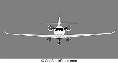 corporate jet - jet for the wealthy