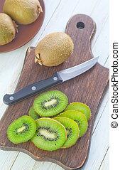 fresh kiwi