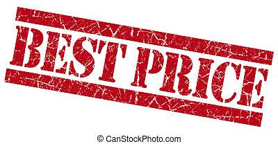 Best price grunge red stamp