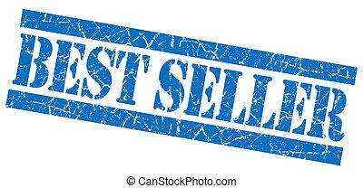 Best seller grunge blue stamp