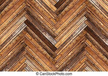 beautiful antique floor design, parquet diagonal mount