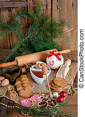 Christmas little places oatmeal