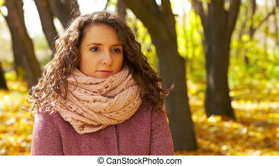 Fresh Weather - Portrait of an attractive young woman...