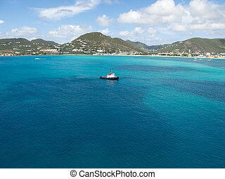 St Martin Bay - Capitol City of Philipsburg St Martin bay...
