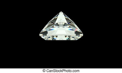 Radiant Cut Diamond - Radiant cut diamond with alpha channel...