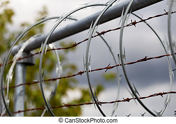 barbwire - Barbed Wire and Razor Wire