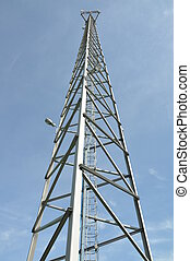 Steel cell phone tower
