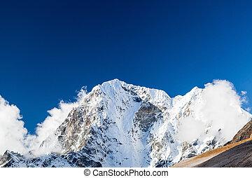 Mountain peak in Himalayas